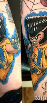 фото тату росомаха от 17.11.2017 №006 – Wolverine tattoo – tatufoto.com