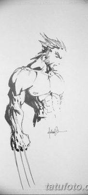 фото тату росомаха от 17.11.2017 №007 – Wolverine tattoo – tatufoto.com