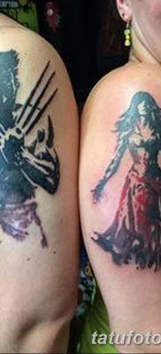 фото тату росомаха от 17.11.2017 №010 – Wolverine tattoo – tatufoto.com