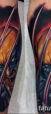 фото тату росомаха от 17.11.2017 №013 – Wolverine tattoo – tatufoto.com
