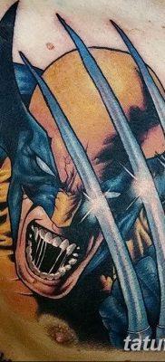 фото тату росомаха от 17.11.2017 №014 – Wolverine tattoo – tatufoto.com