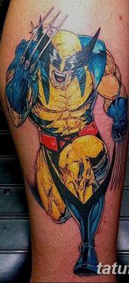 фото тату росомаха от 17.11.2017 №017 – Wolverine tattoo – tatufoto.com