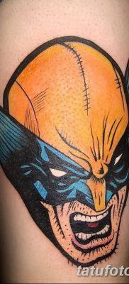 фото тату росомаха от 17.11.2017 №018 – Wolverine tattoo – tatufoto.com