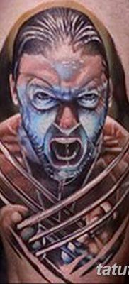 фото тату росомаха от 17.11.2017 №020 – Wolverine tattoo – tatufoto.com