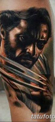 фото тату росомаха от 17.11.2017 №021 – Wolverine tattoo – tatufoto.com