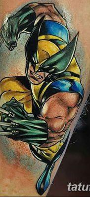 фото тату росомаха от 17.11.2017 №023 – Wolverine tattoo – tatufoto.com