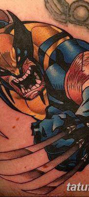 фото тату росомаха от 17.11.2017 №024 – Wolverine tattoo – tatufoto.com