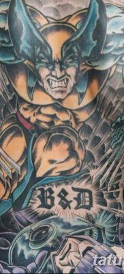 фото тату росомаха от 17.11.2017 №026 – Wolverine tattoo – tatufoto.com