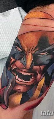 фото тату росомаха от 17.11.2017 №027 – Wolverine tattoo – tatufoto.com