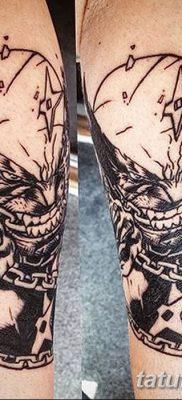 фото тату росомаха от 17.11.2017 №030 – Wolverine tattoo – tatufoto.com