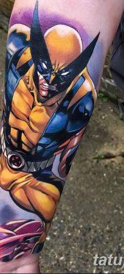 фото тату росомаха от 17.11.2017 №031 – Wolverine tattoo – tatufoto.com