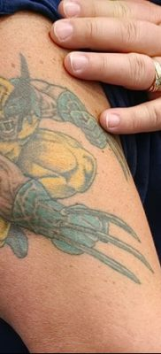 фото тату росомаха от 17.11.2017 №033 – Wolverine tattoo – tatufoto.com