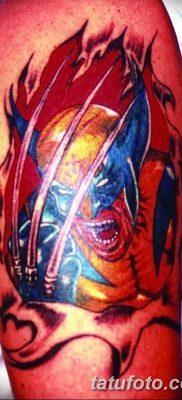 фото тату росомаха от 17.11.2017 №035 – Wolverine tattoo – tatufoto.com