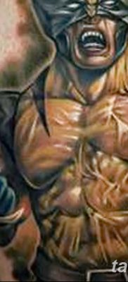 фото тату росомаха от 17.11.2017 №037 – Wolverine tattoo – tatufoto.com