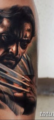 фото тату росомаха от 17.11.2017 №038 – Wolverine tattoo – tatufoto.com