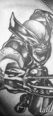 фото тату росомаха от 17.11.2017 №039 – Wolverine tattoo – tatufoto.com