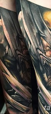 фото тату росомаха от 17.11.2017 №040 – Wolverine tattoo – tatufoto.com