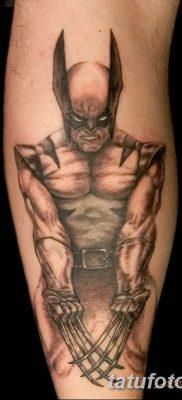 фото тату росомаха от 17.11.2017 №041 – Wolverine tattoo – tatufoto.com