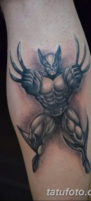 фото тату росомаха от 17.11.2017 №042 – Wolverine tattoo – tatufoto.com