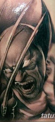 фото тату росомаха от 17.11.2017 №043 – Wolverine tattoo – tatufoto.com