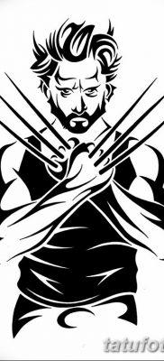 фото тату росомаха от 17.11.2017 №044 – Wolverine tattoo – tatufoto.com