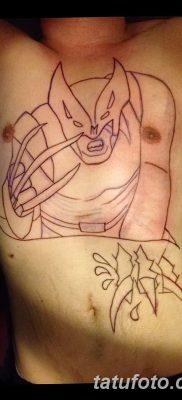 фото тату росомаха от 17.11.2017 №045 – Wolverine tattoo – tatufoto.com