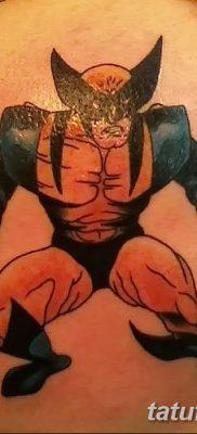 фото тату росомаха от 17.11.2017 №047 – Wolverine tattoo – tatufoto.com