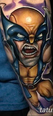 фото тату росомаха от 17.11.2017 №049 – Wolverine tattoo – tatufoto.com