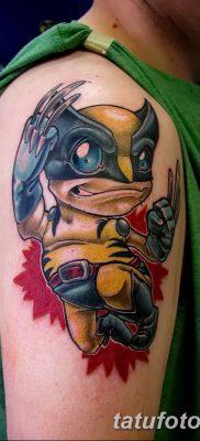 фото тату росомаха от 17.11.2017 №051 – Wolverine tattoo – tatufoto.com