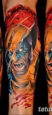 фото тату росомаха от 17.11.2017 №052 – Wolverine tattoo – tatufoto.com
