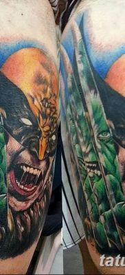 фото тату росомаха от 17.11.2017 №053 – Wolverine tattoo – tatufoto.com