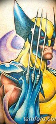 фото тату росомаха от 17.11.2017 №054 – Wolverine tattoo – tatufoto.com