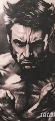 фото тату росомаха от 17.11.2017 №055 – Wolverine tattoo – tatufoto.com