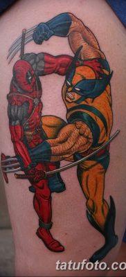 фото тату росомаха от 17.11.2017 №057 – Wolverine tattoo – tatufoto.com