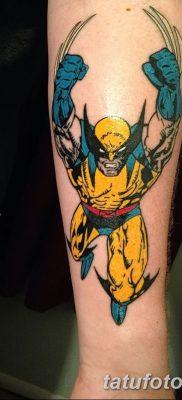 фото тату росомаха от 17.11.2017 №058 – Wolverine tattoo – tatufoto.com