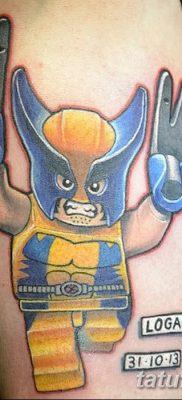 фото тату росомаха от 17.11.2017 №059 – Wolverine tattoo – tatufoto.com