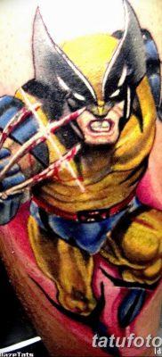фото тату росомаха от 17.11.2017 №061 – Wolverine tattoo – tatufoto.com