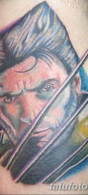 фото тату росомаха от 17.11.2017 №062 – Wolverine tattoo – tatufoto.com
