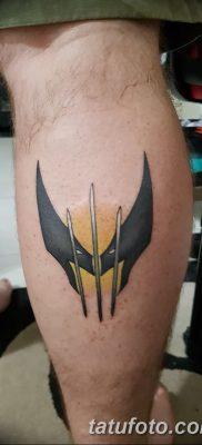 фото тату росомаха от 17.11.2017 №063 – Wolverine tattoo – tatufoto.com