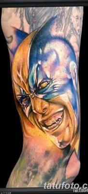 фото тату росомаха от 17.11.2017 №066 – Wolverine tattoo – tatufoto.com