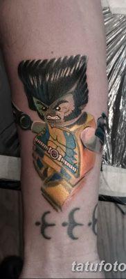 фото тату росомаха от 17.11.2017 №067 – Wolverine tattoo – tatufoto.com