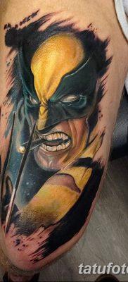 фото тату росомаха от 17.11.2017 №069 – Wolverine tattoo – tatufoto.com