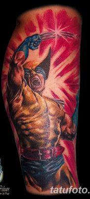 фото тату росомаха от 17.11.2017 №074 – Wolverine tattoo – tatufoto.com