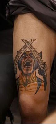 фото тату росомаха от 17.11.2017 №075 – Wolverine tattoo – tatufoto.com