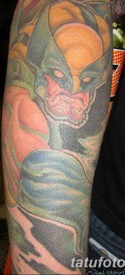 фото тату росомаха от 17.11.2017 №076 – Wolverine tattoo – tatufoto.com