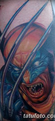 фото тату росомаха от 17.11.2017 №081 – Wolverine tattoo – tatufoto.com