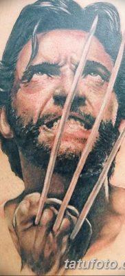 фото тату росомаха от 17.11.2017 №083 – Wolverine tattoo – tatufoto.com