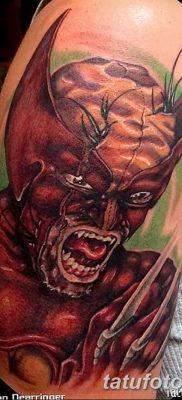 фото тату росомаха от 17.11.2017 №084 – Wolverine tattoo – tatufoto.com