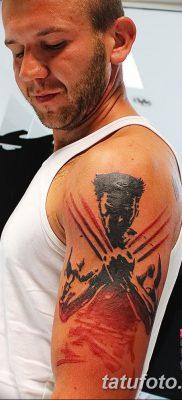 фото тату росомаха от 17.11.2017 №091 – Wolverine tattoo – tatufoto.com