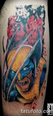 фото тату росомаха от 17.11.2017 №092 – Wolverine tattoo – tatufoto.com
